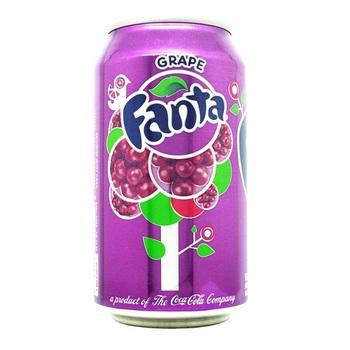Fanta Виноград (Банка 355 мл)