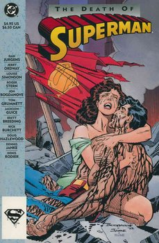 The Death of Superman TPB (1st printing)