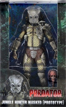 Фигурка NECA Хищник Охотник Джунглей в маске / Predator Jungle Hunter Masked