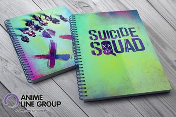 Скетчбук Suicide Squad