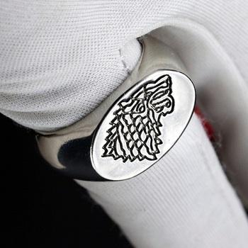 Кольцо Game of Thrones Stark