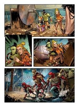 Пригоди Драгонеро. Трійко Юних Героїв #2