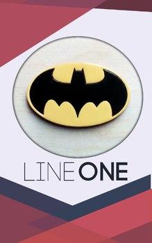 Деревянный значок Бэтмен / Batman