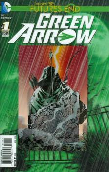 Green Arrow. Futures End #1 Cover A 3D Motion Cover