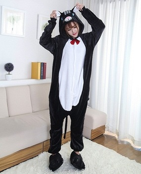 Кигуруми Чёрный Кот / Kigurumi Black Cat