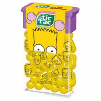 Tic Tac The Simpsons Драже со вкусом Жвачки