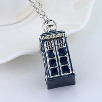 Кулон Тардис Доктор Кто / Tardis Doctor Who