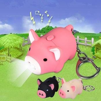 Брелок-фонарик Свинка / Piggy