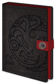 Официальный блокнот Таргариен Игра Престолов / Targaryen Game of Thrones