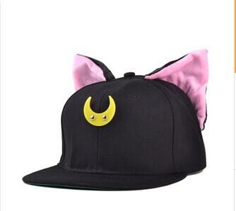 Кепка Sailor Moon Черная
