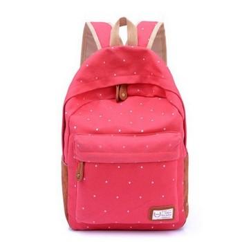 «Горошек» Красный Рюкзак