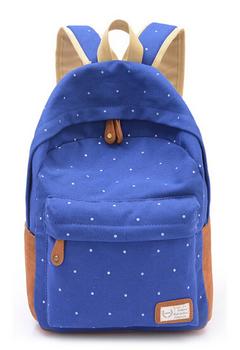 Рюкзак «Горошек» Синий