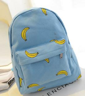 Рюкзак Банан Голубой