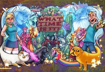 Постер Adventure Time
