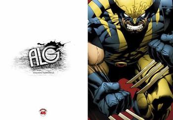 Wolverine тетрадь на скобе