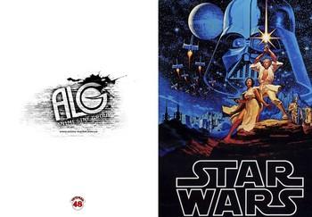Star Wars тетрадь на скобе