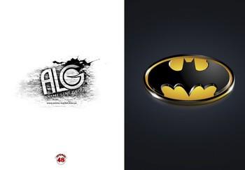 Batman тетрадь на скобе