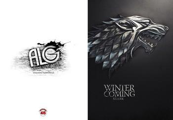 Game of Thrones тетрадь на скобе