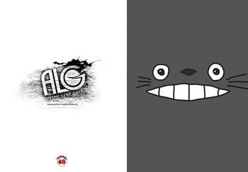 Totoro тетрадь на скобе