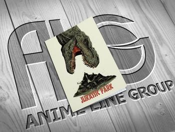 Jurassic Park тетрадь на скобе