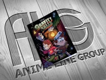 Gravity Falls тетрадь на скобе