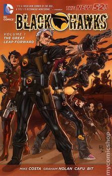 Blackhawks Vol. 1: The Great Leap Forward (The New 52) (мягкая обложка)