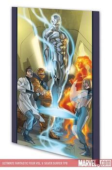 Ultimate Fantastic Four Vol. 9: Silver Surfer (мягкая обложка)