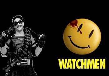 Обложка Watchmen