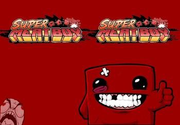 Обложка Super Meatboy