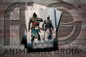 Обложка Assasin's Creed