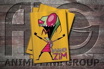 Обложка Invader Zim