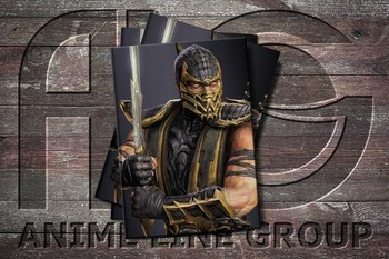 Обложка Mortal Kombat