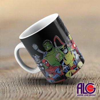 Чашка Superheroes