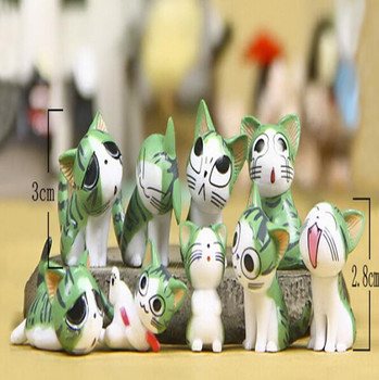 Фигурка Кот Чи Зеленый / Chi Cat Green