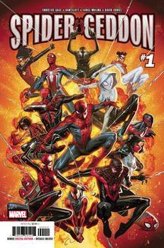 Spider-Geddon #1 Cover A 1st Ptg Regular Jorge Molina Cover