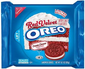 Печенье Oreo Red Velvet