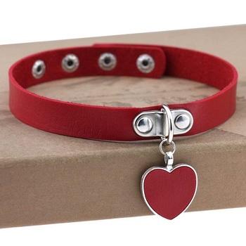 Чокер Сердце (Красный)