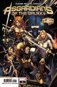 Asgardians Of The Galaxy #1 Cover A 1st Ptg Regular Dale Keown Cover