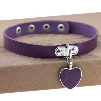 Чокер Сердце (Фиолетовый)