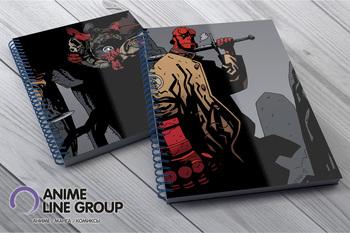 Скетчбук Hellboy