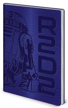 Официальный блокнот Р2-Д2 Звёздные Войны / R2-D2 Star Wars
