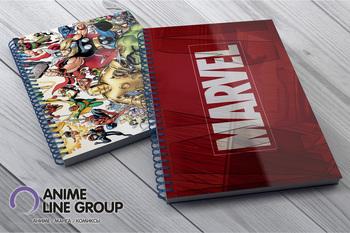 Скетчбук Marvel