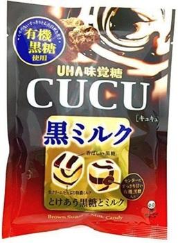 Леденцы UHA CUCU Шоколад и Кофе (Упаковка 90 г.)