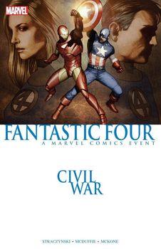 Civil War. Fantastic Four TPB