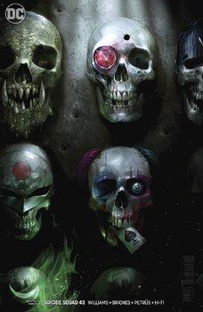 DC Universe. Suicide Squad #43 Cover B Variant Francesco Mattina Cover