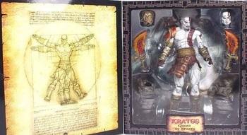 Фигурка NECA Кратос (God of War Призрак Спарты) / Kratos (God of War Ghost of Sparta)