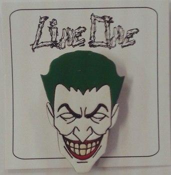 Деревянный значок Джокер / Joker