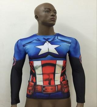 Лонгслив Captain America