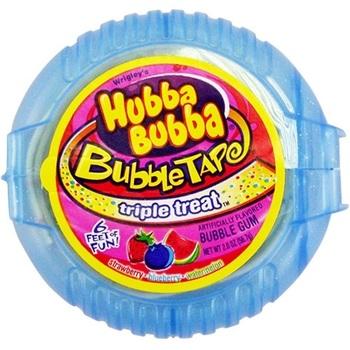 Жевательная резинка Hubba Bubba Triple Treat (Мега длина)