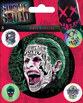 Официальный набор стикеров Джокер Отряд Самоубийц / The Joker Suicide Squad